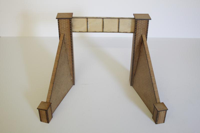 SINGLE TRACK STEEL GIRDER BRIDGE